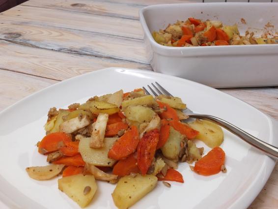 piezone warzywa z jabłkiem