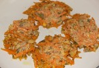 Placuszki owsiane z marchewką