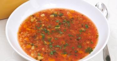 zupa pomidorowa.